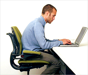 laptop-hunch-is-typical-of-poor-posture-in-today's-society